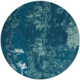rug #1316991   round blue-green abstract rug