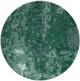 rug #1316995   round blue-green abstract rug
