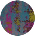 rug #1317019 | round pink abstract rug