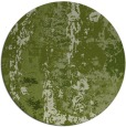 rug #1317067 | round green abstract rug