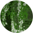 rug #1317083 | round green abstract rug
