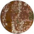 rug #1317091   round brown rug