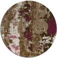 rug #1317099 | round beige abstract rug