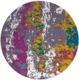 rug #1317112 | round abstract rug