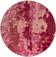 rug #1317176 | round abstract rug