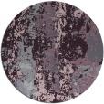 rug #1317195 | round purple abstract rug