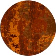 rug #1317215 | round red-orange abstract rug