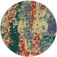 rug #1317275 | round yellow popular rug