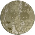 rug #1317283 | round light-green abstract rug