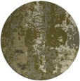 rug #1317291 | round light-green rug
