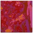 rug #1317947 | square red abstract rug