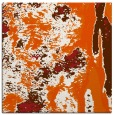 rug #1317963 | square red-orange abstract rug