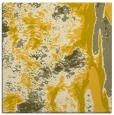 rug #1317995   square yellow abstract rug