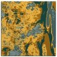 rug #1318007 | square light-orange abstract rug