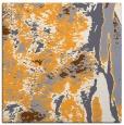 rug #1318039 | square light-orange abstract rug