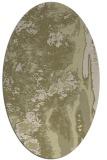 rug #1318387   oval light-green abstract rug