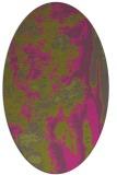 rug #1318391   oval light-green abstract rug