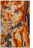 rug #1318411 |  orange abstract rug