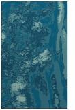 rug #1318479    blue-green abstract rug