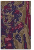 rug #1318515    blue-violet abstract rug