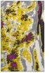 rug #1318739 |  yellow abstract rug