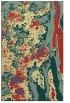 rug #1318747    yellow abstract rug