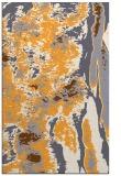 rug #1318775 |  light-orange abstract rug