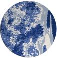 rug #1318827 | round blue rug