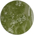 rug #1318907 | round green abstract rug