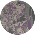 rug #1318967 | round purple abstract rug