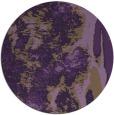 rug #1319031   round purple abstract rug