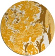 rug #1319135   round light-orange abstract rug