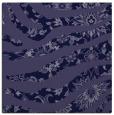 rug #1319599 | square blue-violet animal rug