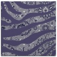 rug #1319603 | square blue-violet damask rug