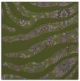rug #1319655 | square green damask rug