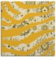 rug #1319835 | square yellow animal rug