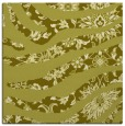 rug #1319855 | square light-green damask rug