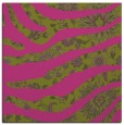 rug #1319863 | square light-green damask rug