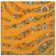 rug #1319875   square light-orange animal rug