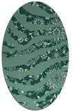 rug #1319941 | oval damask rug