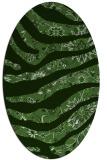 rug #1320029 | oval abstract rug