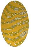 rug #1320205 | oval animal rug