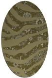 rug #1320235   oval light-green animal rug