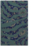 rug #1320291 |  blue-green damask rug