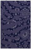 rug #1320335    blue-violet animal rug
