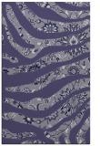 rug #1320339    blue-violet damask rug