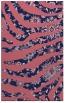 rug #1320343 |  blue-violet animal rug