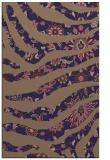 rug #1320355    blue-violet animal rug