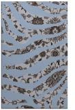 rug #1320359 |  blue-violet damask rug