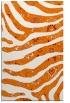 rug #1320467 |  orange damask rug